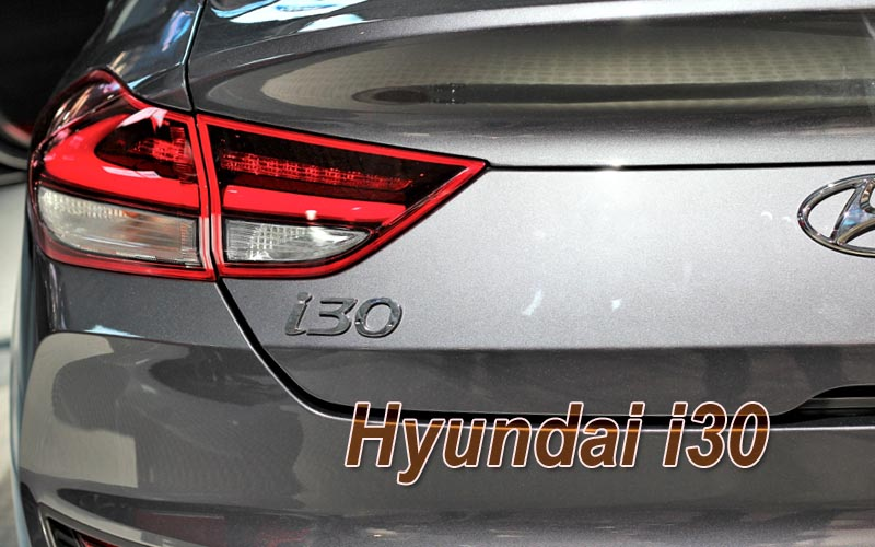 Hyundai i30 N - hot hatch.