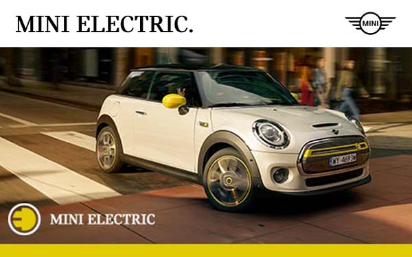 Mini Cooper Electric SE.