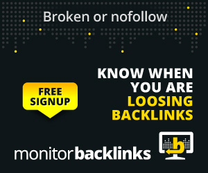 Check, monitor and control your backlinks